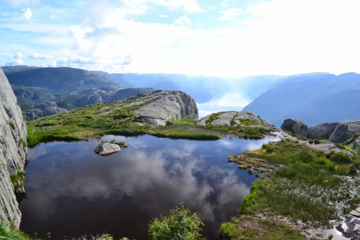Randonnée au Preikestolen en Norvège - En l'Air pour la Terre