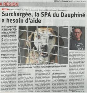 Article DL : La SPA surchargée
